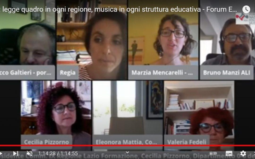 """Convegno """"0/6: Una legge quadro in ogni Regione, la Musica in ogni struttura educativa"""""""
